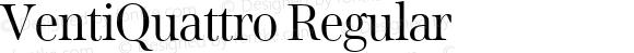 VentiQuattro Regular