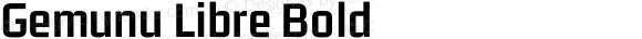 Gemunu Libre Bold