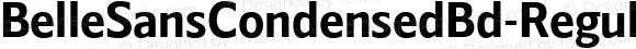 BelleSansCondensedBd-Regular ☞ Version 1.000 2016;com.myfonts.easy.park-street-studio.belle-sans.condensed-bd.wfkit2.version.4yzD