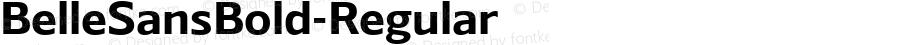 BelleSansBold-Regular ☞ Version 1.000 2016;com.myfonts.easy.park-street-studio.belle-sans.bold.wfkit2.version.4yB3
