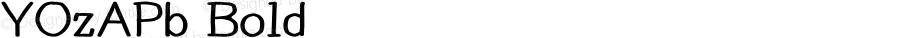 YOzAPb Bold Version 14.04