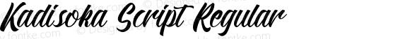 Kadisoka Script Regular