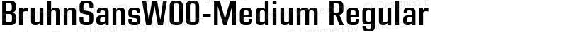 BruhnSansW00-Medium Regular Preview Image