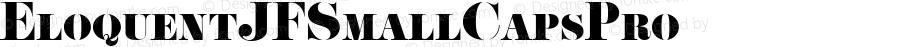 EloquentJFSmallCapsPro ☞ com.myfonts.easy.cbx-jukebox.eloquent-jf-pro.smallcaps.wfkit2.version.4yk3