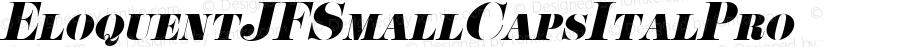 EloquentJFSmallCapsItalPro ☞ com.myfonts.easy.cbx-jukebox.eloquent-jf-pro.smallcaps-italic.wfkit2.version.4yk5