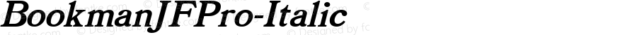 BookmanJFPro-Italic ☞ Version 2.000;com.myfonts.easy.cbx-jukebox.bookman-jf-pro.italic.wfkit2.version.4AGi