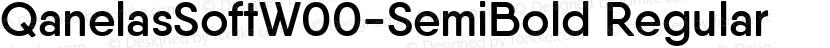 QanelasSoftW00-SemiBold Regular Preview Image