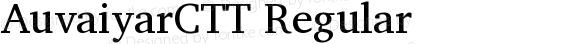 AuvaiyarCTT Regular
