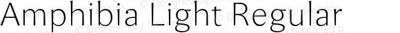 Amphibia Light Regular Version 001.000