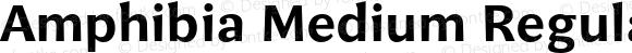 Amphibia Medium Regular Version 001.000