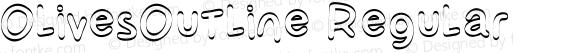 OlivesOutline Regular Version 1.008;Fontself Maker 1.0.8