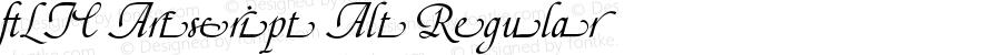 _LTC Artscript Alt Regular Version 1.0 Extracted by ASV http://www.buraks.com/asv