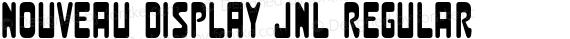 Nouveau Display JNL Regular preview image