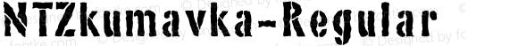 NTZkumavka-Regular ☞ Version 1.0;com.myfonts.novotypo.nt-zkumavka.regular.wfkit2.3Gtj