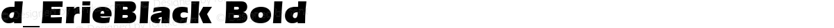 d_ErieBlack Bold