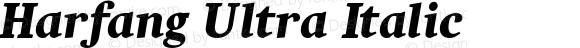 Harfang Ultra Italic