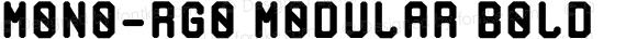 MONO-RGO MODULAR Bold preview image