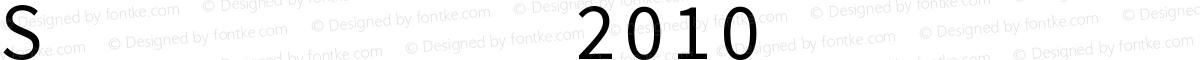 SignWriting 2010 Filling Medium