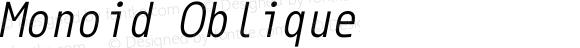 Monoid Oblique