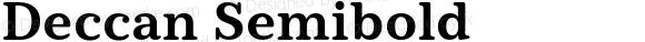 Deccan Semibold