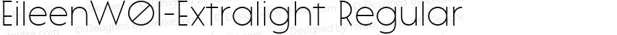 EileenW01-Extralight Regular Version 1.10