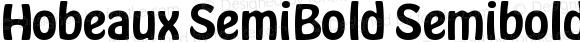 Hobeaux SemiBold Semibold