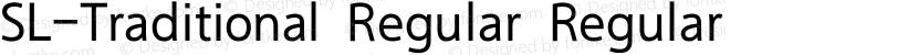 SL-Traditional Regular Regular Preview Image