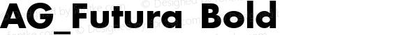 AG_Futura Bold preview image