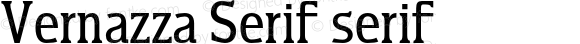 Vernazza Serif serif
