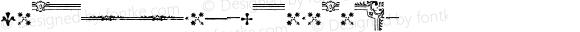 AmericanusOrnaments ☞ Version 1.000 2006 initial release;com.myfonts.aerotype.americanus.ornaments.wfkit2.2Ynh