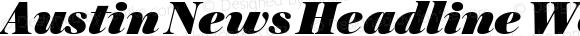 Austin News Headline Web Ultra Italic