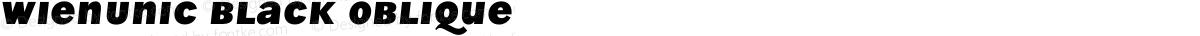 WienUnic Black Oblique