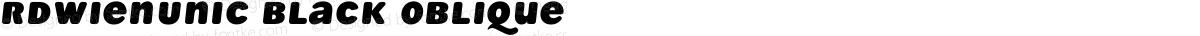 RdWienUnic Black Oblique