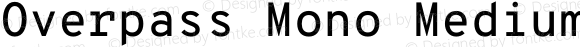 Overpass Mono Medium