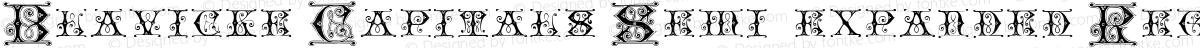 Blavicke Capitals Semi-expanded Regular