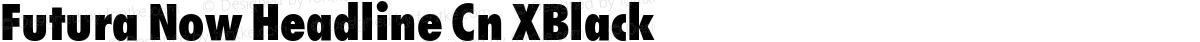 Futura Now Headline Cn XBlack