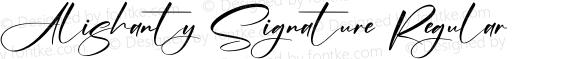 Alishanty Signature Regular
