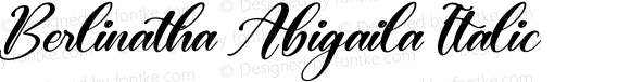 Berlinatha Abigaila Italic