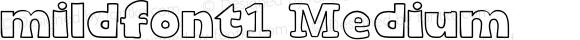 mildfont1 Medium