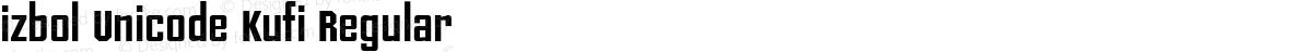 izbol Unicode Kufi Regular