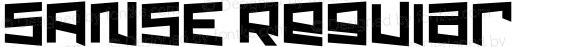 SANSE Regular