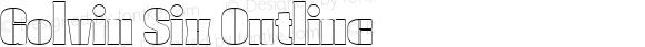 Golvin Six Outline