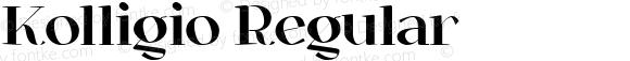 Kolligio Regular