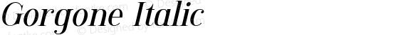 Gorgone Italic