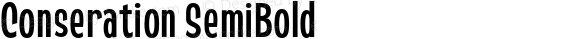 Conseration SemiBold