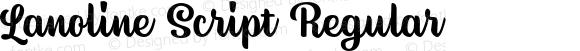 Lanoline Script Regular