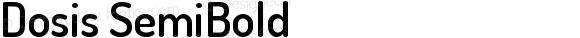 Dosis SemiBold