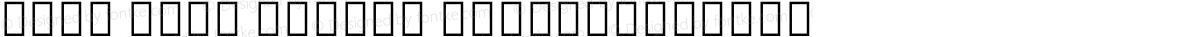 Noto Sans Hebrew SemiCondensed