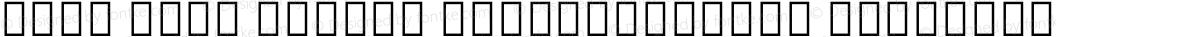 Noto Sans Hebrew SemiCondensed SemiBold