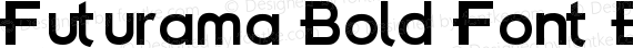 Futurama Bold Font BoldFont preview image
